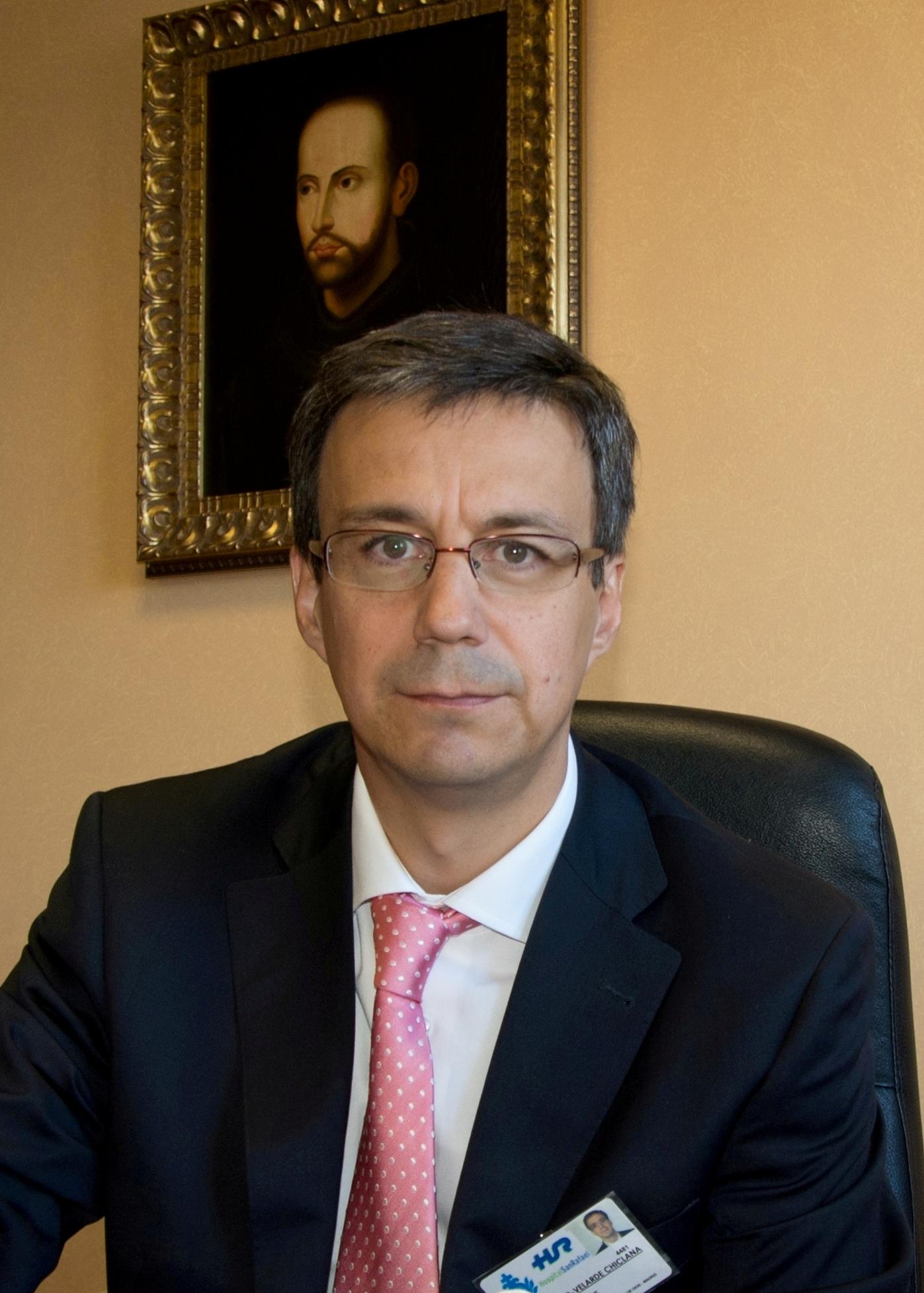 Jesús Morillo-Velarde, Gerente Hospital San Rafael