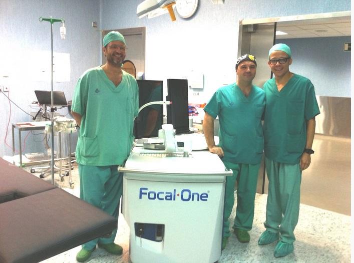 Cirugía de próstata con ultrasonido en s anna en como park